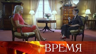 Знаменитая американская телеведущая Мегин Келли дала эксклюзивное интервью Софико Шеварднадзе.<