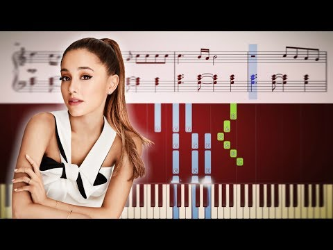 GOD IS A WOMAN Ariana Grande - Piano Tutorial + SHEETS