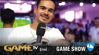 Game TV Schweiz - Interview mit Erné  | Youtuber (FeelFIFA) | Zürich Game Show