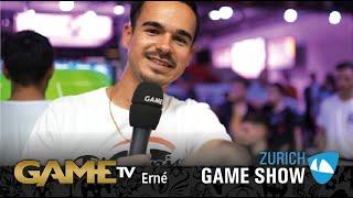 Game TV Schweiz - Interview mit Erné    Youtuber (FeelFIFA)   Zürich Game Show