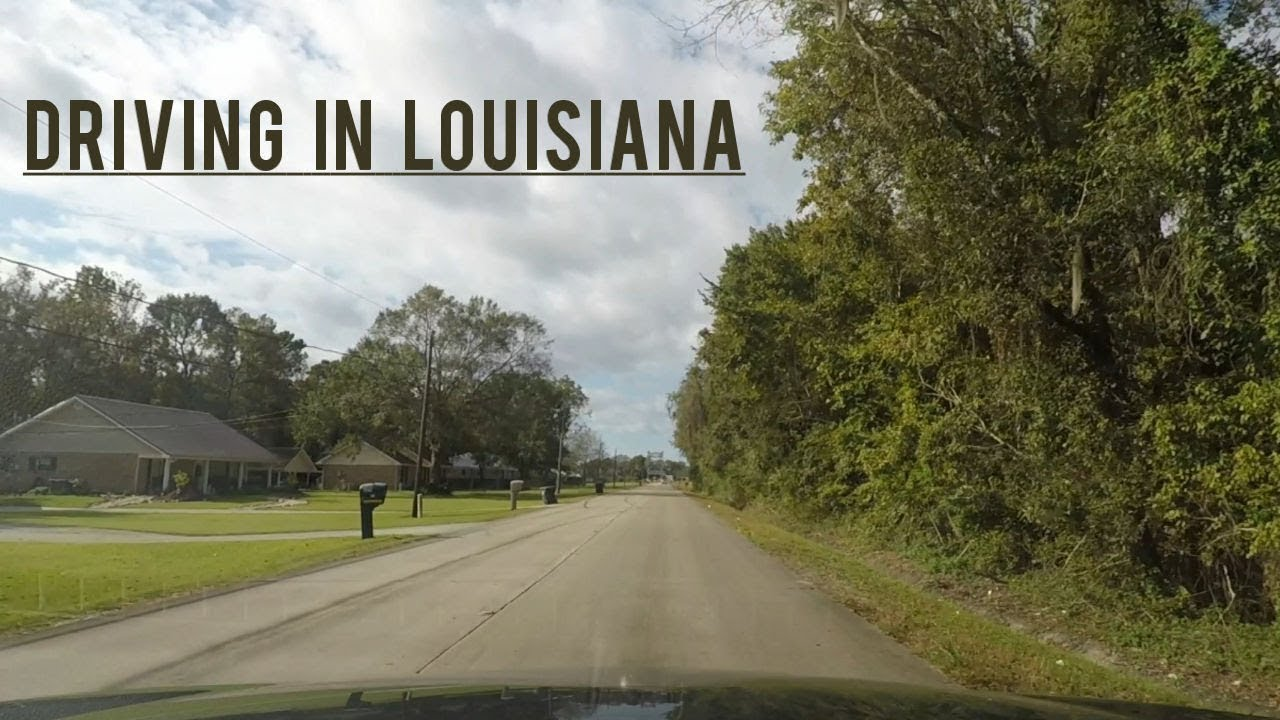 Driving Through Louisiana New Orleans To Amelia Youtube