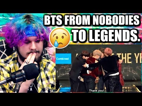 BTS // FROM NOBODIES TO LEGENDS 2013- DEC 2017 | REACTION!!