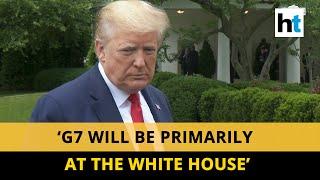 'It looks like G7 Summit will be on': US President Donald Trump