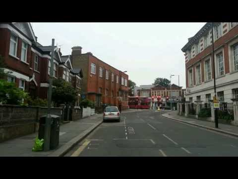 E3 route - chiswick to greenford at 5 am