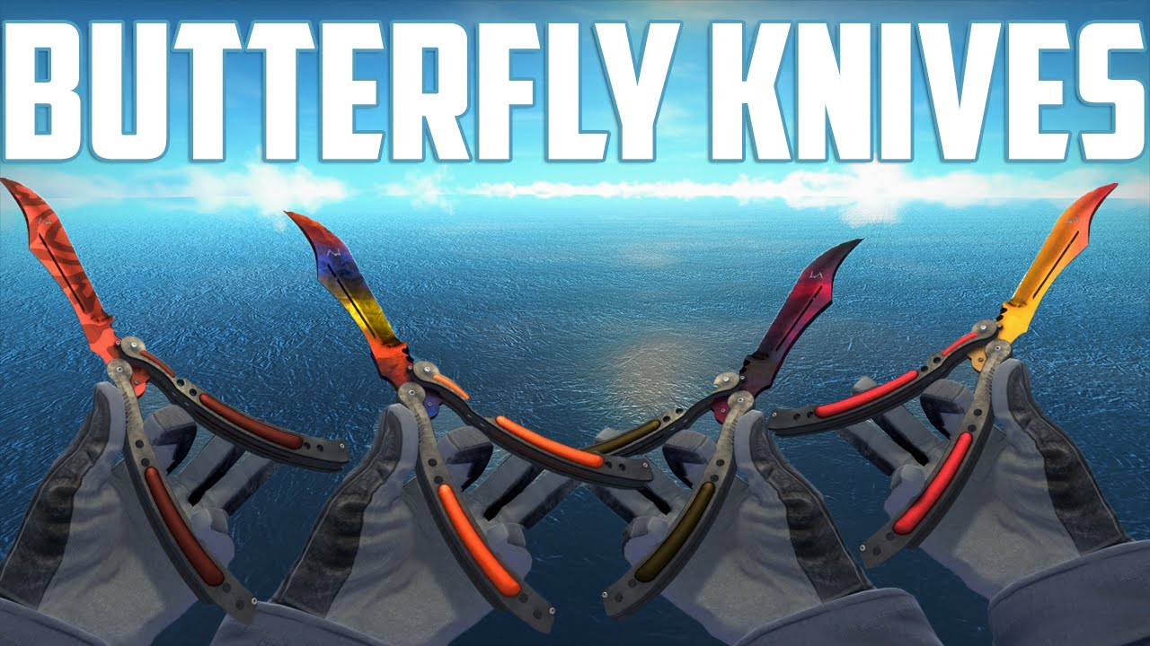 CS:GO - Butterfly Knives - All Skins Showcase + Price | Все Скины ...