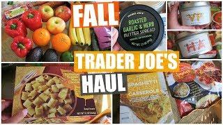 FALL Trader Joe's Haul | 2018