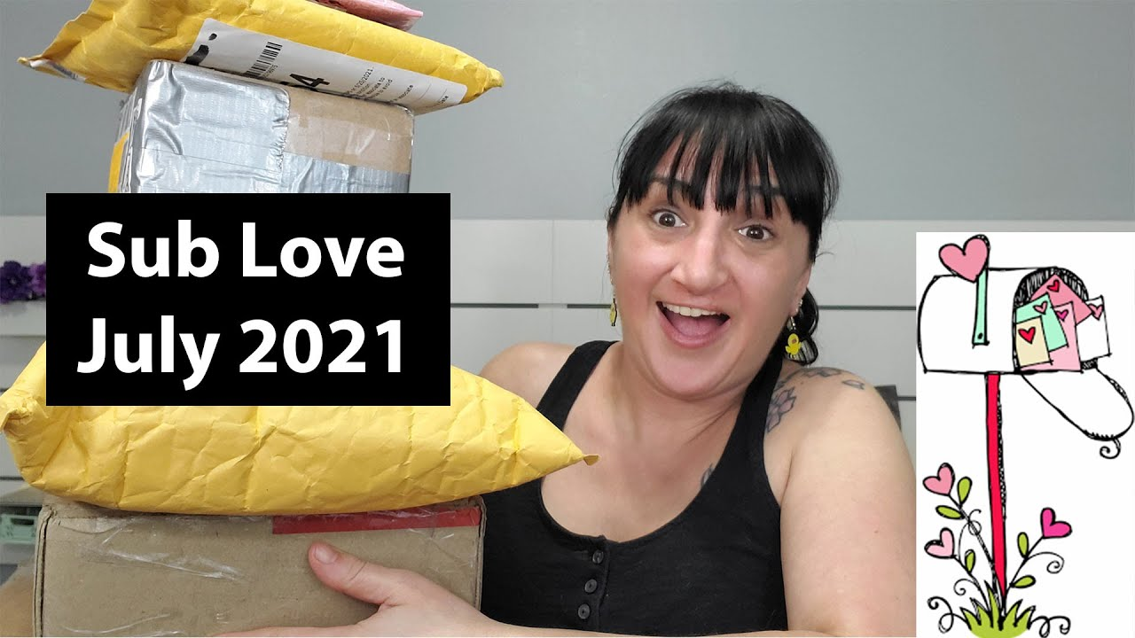 Unboxing Some Sub Love | July 2021