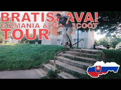 BRATISLAVA! | GIZMANIA & FREESCOOT TOUR