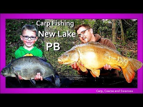 *** Carp Fishing *** New Lake PB - Fendrod Lake. Video 151