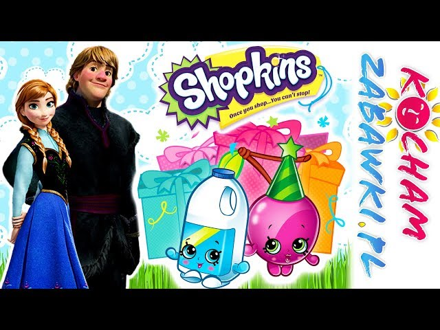 Disney Frozen & Shopkins • Niespodzianka dla Elsy • bajki po polsku