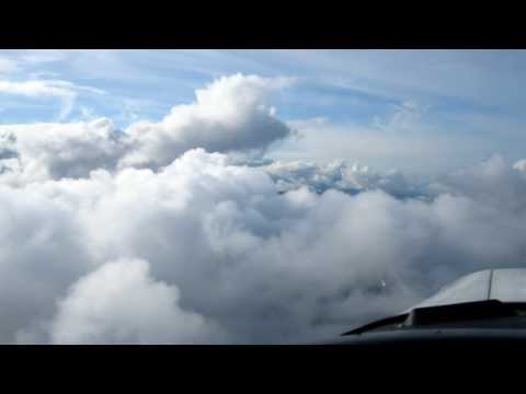 Chasing Angels:  flying around clouds in the Fraser Valley