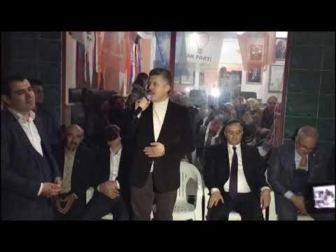 Özkan, Selendi Cumhur ittifakı aday tanıtımı programında konuştu