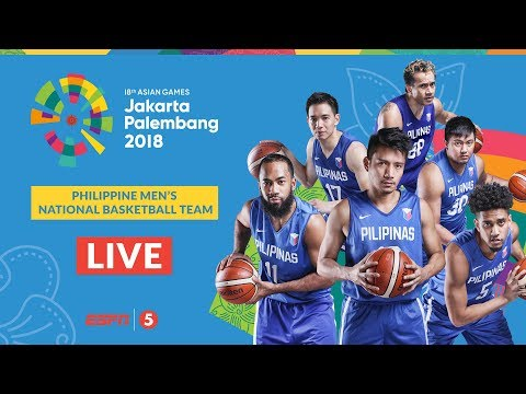 Gilas Pilipinas def. Syria, 109-55 (REPLAY VIDEO) 2018 Asian Games - Battle for 5th