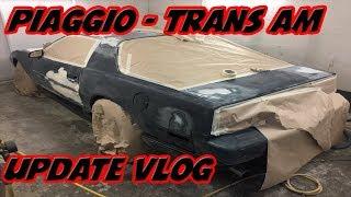 Piaggio Vespa And Trans Am Update Vlog