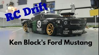 RC Drift Ken Blocks Ford Mustang|| xAlpha Star