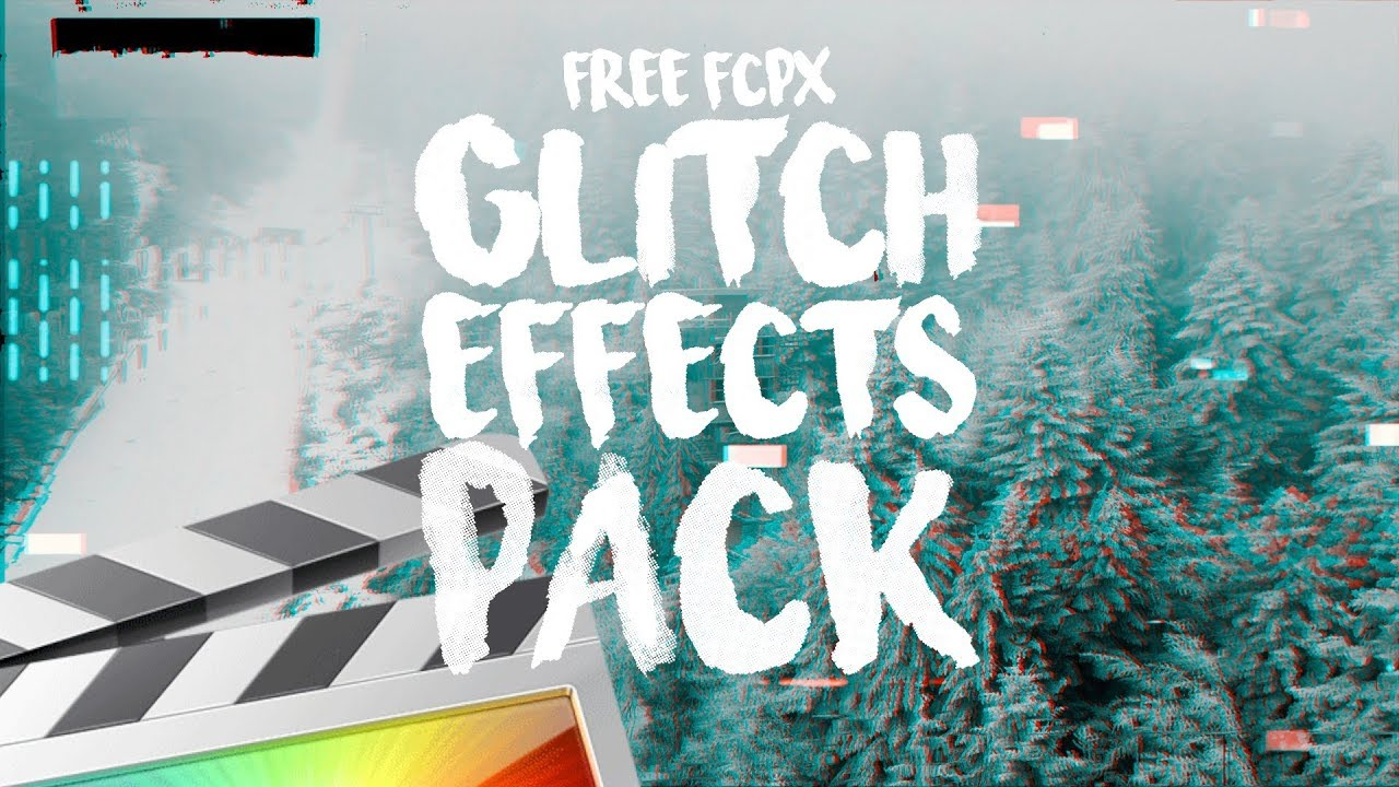 Free Glitch Effects Pack - Final Cut Pro X - Ryan Nangle