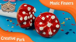 DIY Crafts - Recycling : How To Make A Mushroom With A Plastic Bottle