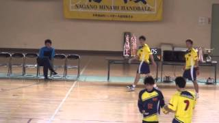 2015年03月22日 平成26年度第54回長野県総合ハンドボール選手権大会 Nagano Yeti VS TEAM ICHIRO  1