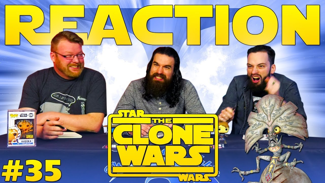 Star Wars: The Clone Wars #35 REACTION!!