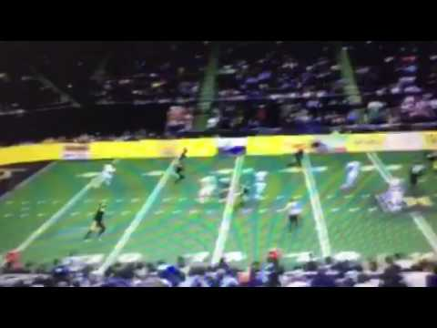 Jacoby Jones Arena Football Touchdown