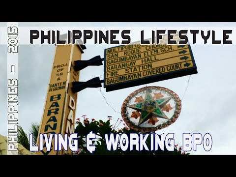BPO Lifestyle Manila Philippines | Asia Travel  VLOG