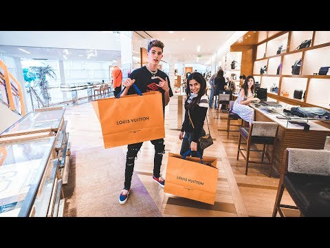 Teenager Goes on A $5000 Shopping Spree at Louis Vuitton!