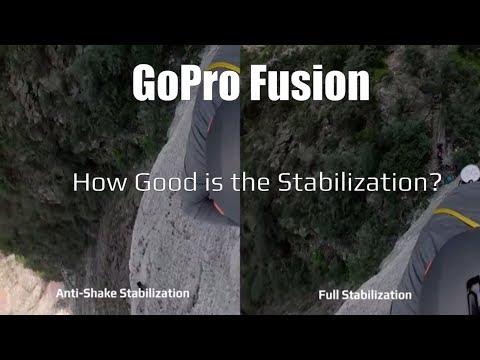 GoPro Fusion Stabilization Test Footage