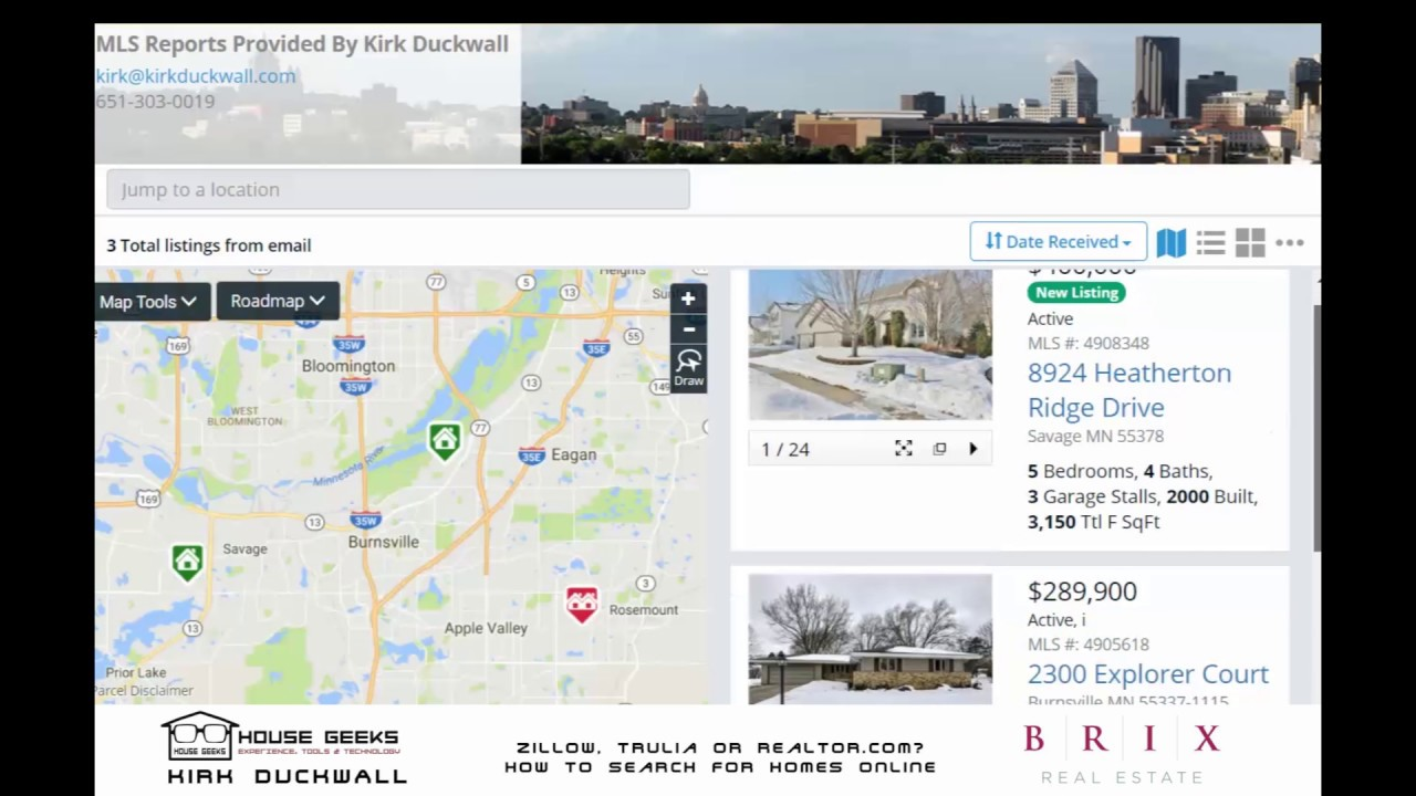 Zillow Search By Map on