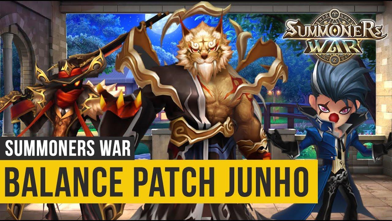 Mudanças do Balance Patch Junho 2020 - Summoners War