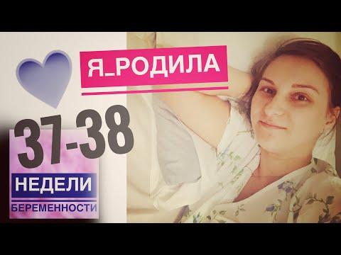 Я РОДИЛА💙 37-38 недели беременности #танятур