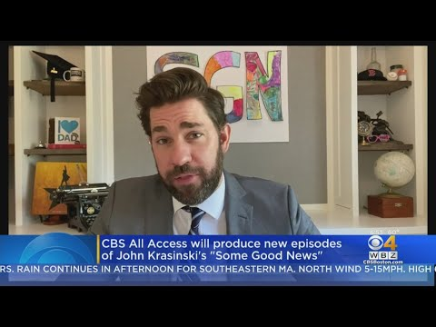 CBS-All-Access-To-Produce-New-Episodes-Of-John-Krasinskis-Some-Good-News