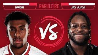 Premier League or NFL? Iwobi v Jay Ajayi | Super Bowl Rapid Fire