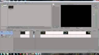 как сделать нарезку видео в sony vegas