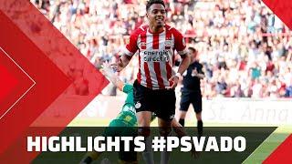 HIGHLIGHTS   PSV - ADO Den Haag