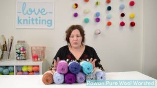 Yarn Review | Rowan Pure Wool Worsted