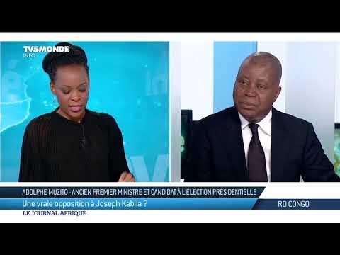 RD CONGO : Adolphe Muzito en route pour la présidentielle
