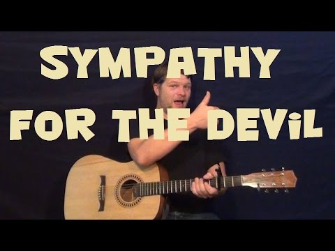 Sympathy For The Devil (The Rolling Stones) Easy Strum Guitar Lesson How to Play Tutorial