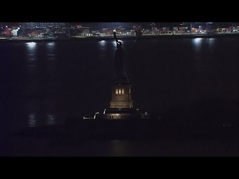 Outage To Blame For Dark Statue Of Liberty Before International Women's Day