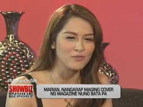 Marian Rivera, first interview on 'Showbiz Inside Report'