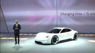Porsche Mission E Concept 2015 Videos