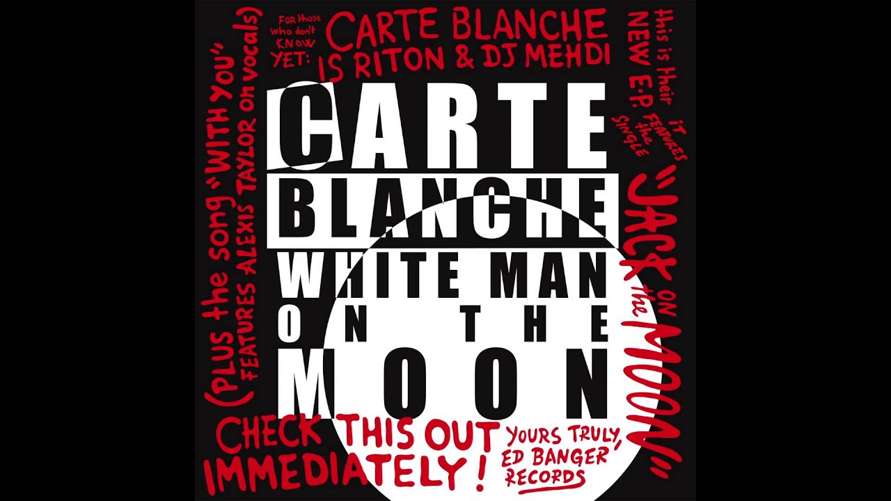 Carte Blanche French Carte Blanche Lettre à France