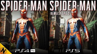 Spider-Man Remastered [PS5] vs Spider-Man [PS4] | Direct Comparison