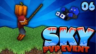 MITTEN IM MASSENFIGHT IN DER MITTE BEIM PVP EVENT! - Minecraft SKY #6 | DieBuddiesZocken