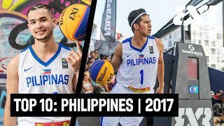 Top 10 Philippines Plays of 2017 w/ Kobe Paras, Kiefer Ravena and more! | FIBA 3x3