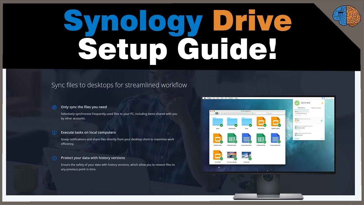 Synology Drive Setup Guide