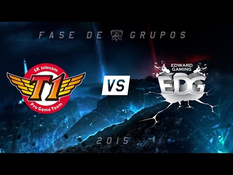 [Mundial 2015] SKT x EDG - Grupo C, Dia 6
