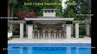 Gambar cover Backyard kitchen and pool designs | Modern Style Kitchen decor Design Ideas & Picture
