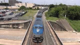 Amtrak #2 backs into Houston TX HOS 6/14/2016
