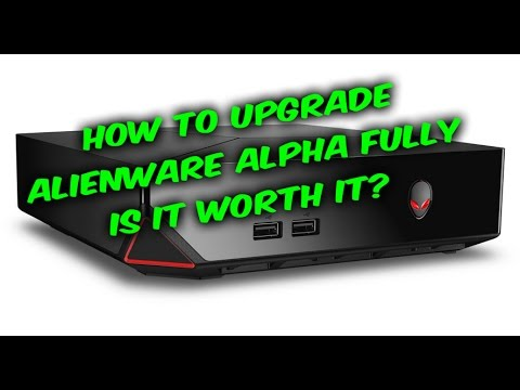 Alienware Alpha Unboxing & How To Upgrade CPU GPU RAM HDD SDD, the possibilities
