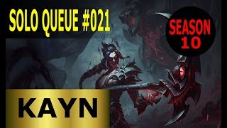 Kayn Jungle - Full League of Legends Gameplay [Deutsch/German] Solo Queue Ranked Game #021